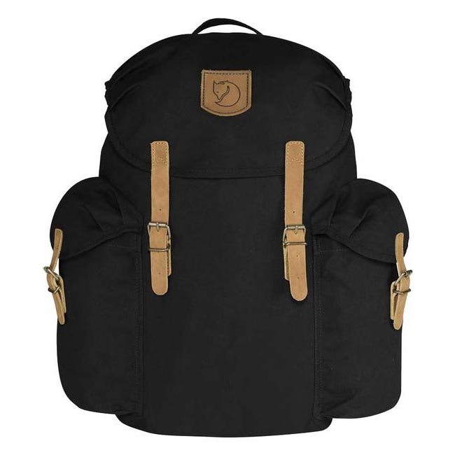 Bags Fjallraven ÖVIK BACKPACK 20 BLACK Outlet Online