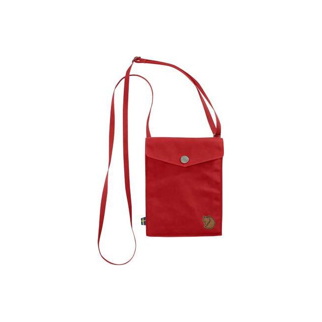 Bags Fjallraven POCKET SHOULDER BAG RED Outlet Online