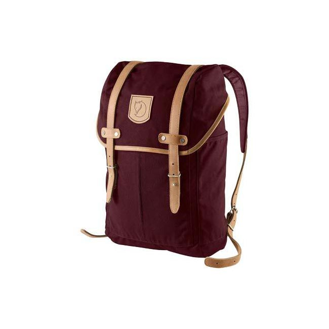 Bags Fjallraven RUCKSACK NO.21 SMALL BACKPACK DARK GARNET  Outlet Online