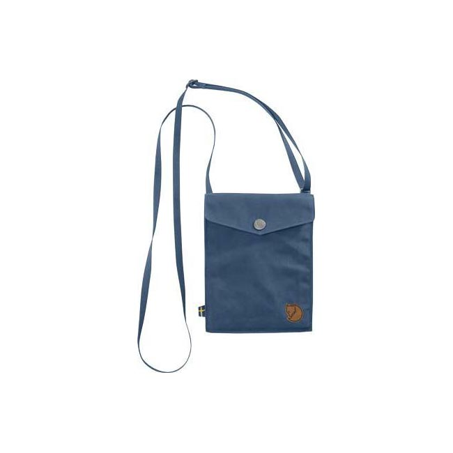 Bags Fjallraven POCKET SHOULDER BAG UNCLE BLUE  Outlet Online