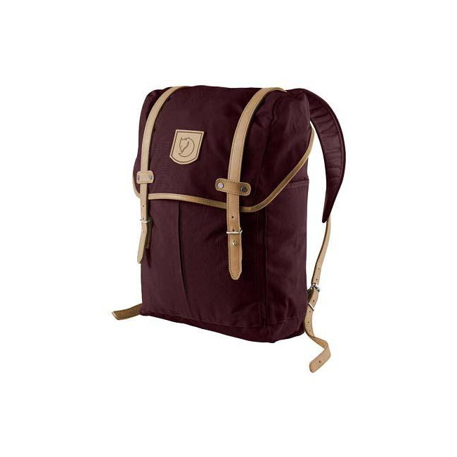 Bags Fjallraven RUCKSACK NO.21 MEDIUM BACKPACK DARK GARNET  Outlet Online