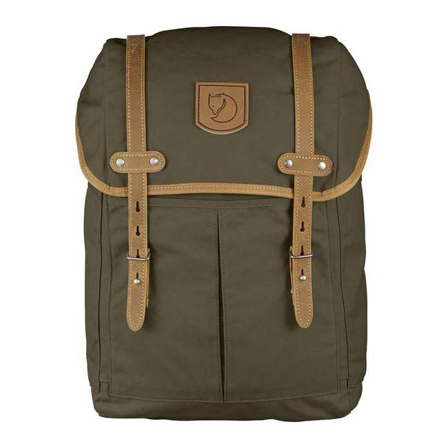 Bags Fjallraven RUCKSACK NO.21 MEDIUM BACKPACK DARK OLIVE  Outlet Online