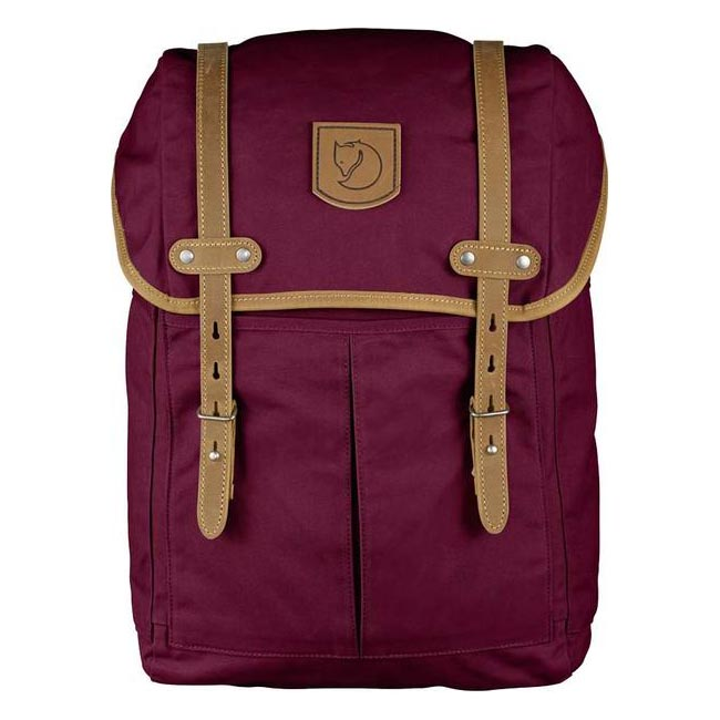 Bags Fjallraven RUCKSACK NO.21 MEDIUM BACKPACK PLUM  Outlet Online