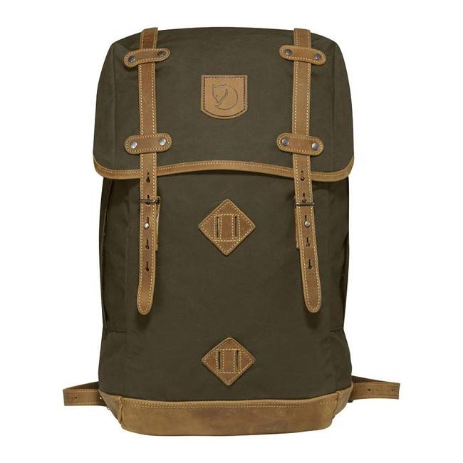 Bags Fjallraven RUCKSACK NO.21 LARGE BACKPACK DARK OLIVE Outlet Online