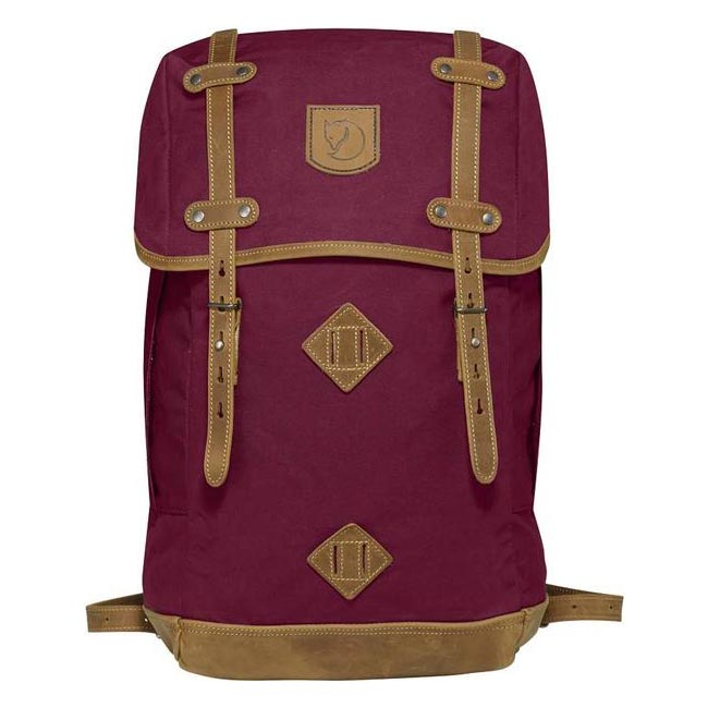 Bags Fjallraven RUCKSACK NO.21 LARGE BACKPACK PLUM  Outlet Online