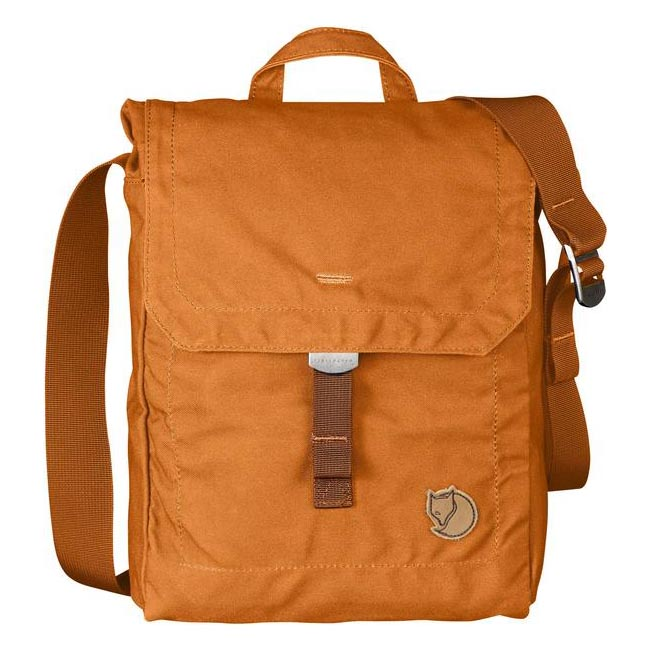 Bags Fjallraven FOLDSACK NO.3 SHOULDER BAG SEASHELL ORANGE Outlet Online