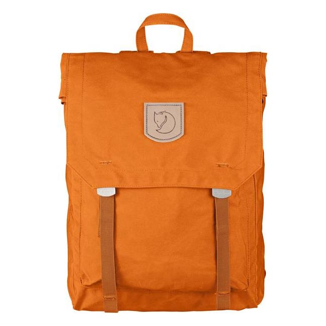 Bags Fjallraven FOLDSACK NO.1 BACKPACK SEASHELL ORANGE  Outlet Online