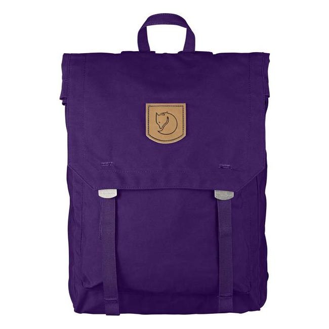 Bags Fjallraven FOLDSACK NO.1 BACKPACK PURPLE Outlet Online