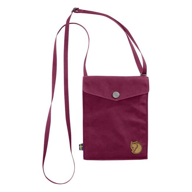 Bags Fjallraven POCKET SHOULDER BAG PLUM Outlet Online