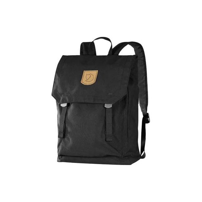 Bags Fjallraven FOLDSACK NO.1 BACKPACK BLACK  Outlet Online