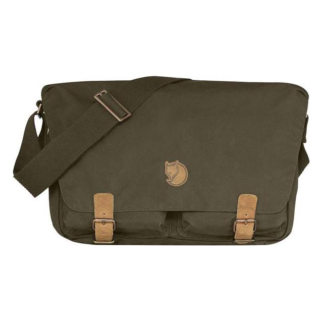 Bags Fjallraven ÖVIK SHOULDER BAG DARK OLIVE  Outlet Online