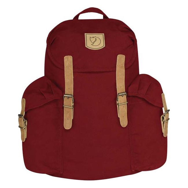 Bags Fjallraven ÖVIK BACKPACK 15 DEEP RED Outlet Online