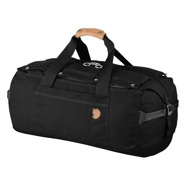 Bags Fjallraven DUFFEL NO.6 SMALL BLACK  Outlet Online
