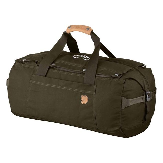 Bags Fjallraven DUFFEL NO.6 SMALL DARK OLIVE  Outlet Online