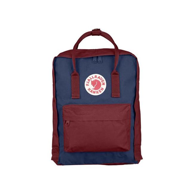 Bags Fjallraven KÅNKEN BACKPACK ROYALBLUE-OX RED Outlet Online