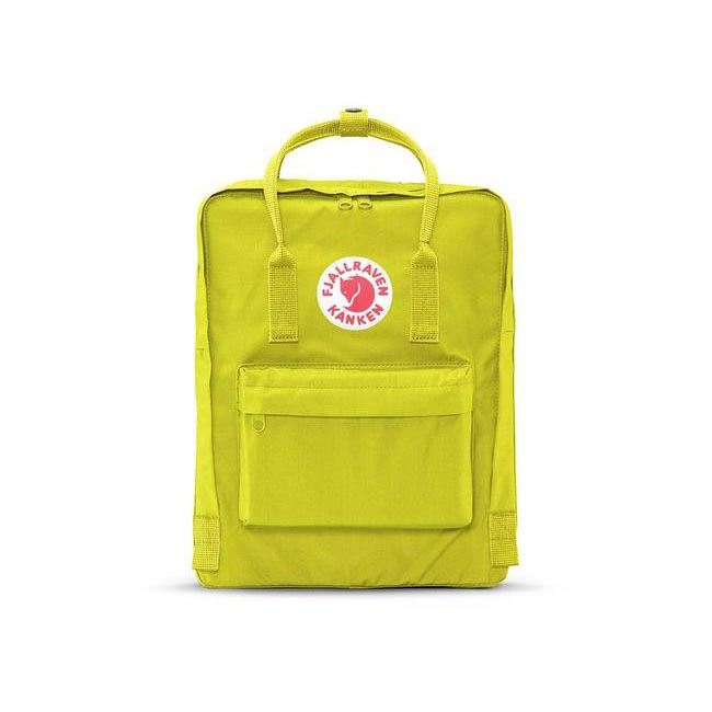 Bags Fjallraven KÅNKEN BACKPACK BIRCH GREEN Outlet Online