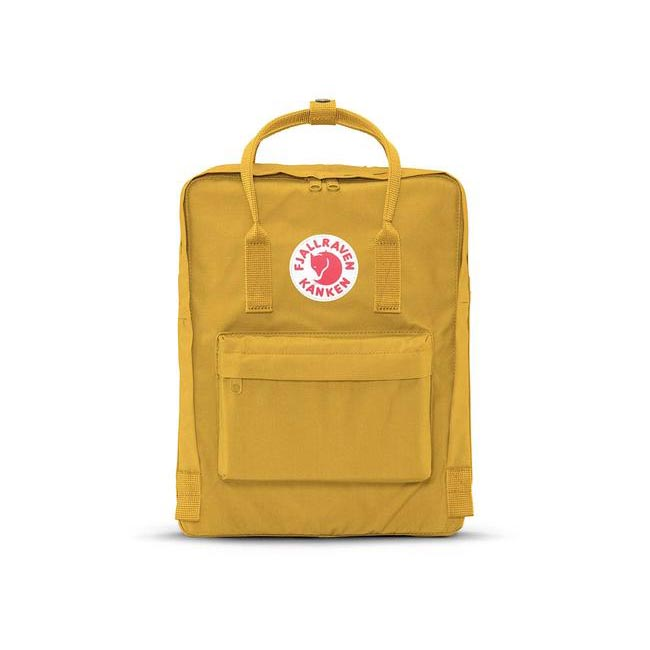 Bags Fjallraven KÅNKEN BACKPACK OCHRE Outlet Online