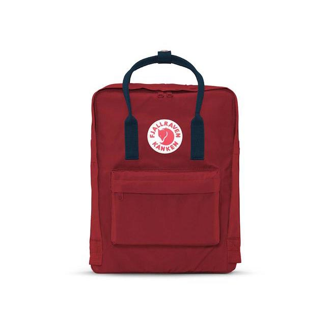 Bags Fjallraven KÅNKEN BACKPACK OXRED-ROYAL BLUE Outlet Online
