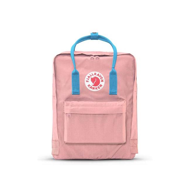 Bags Fjallraven KÅNKEN BACKPACK PINK-AIR BLUE Outlet Online
