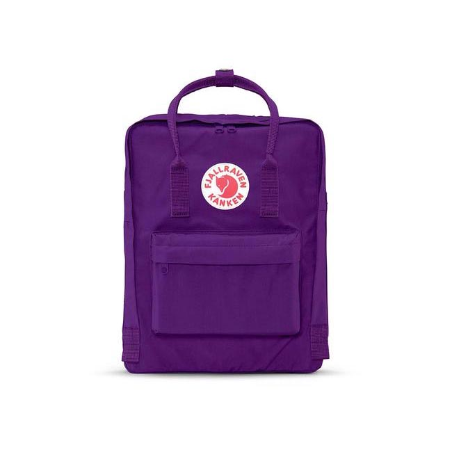 Bags Fjallraven KÅNKEN BACKPACK PURPLE Outlet Online