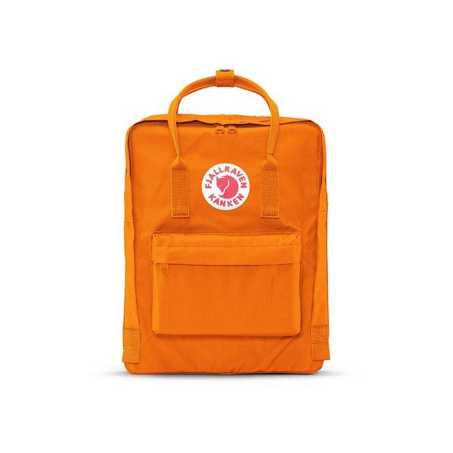 Bags Fjallraven KÅNKEN BACKPACK BURNT ORANGE Outlet Online