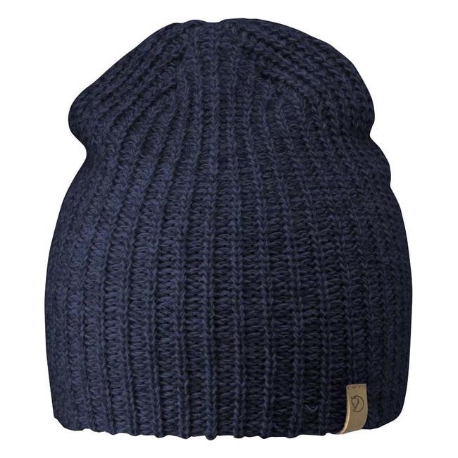 Equipment Fjallraven OVIK MELANGE BEANIE NAVY Outlet Online