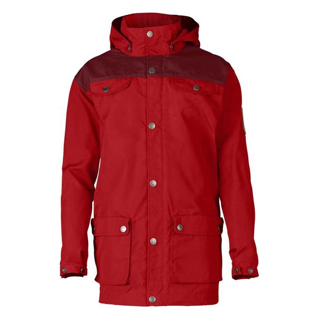 Women Fjallraven KID\'S GREENLAND JACKET RED-OX RED Outlet Online
