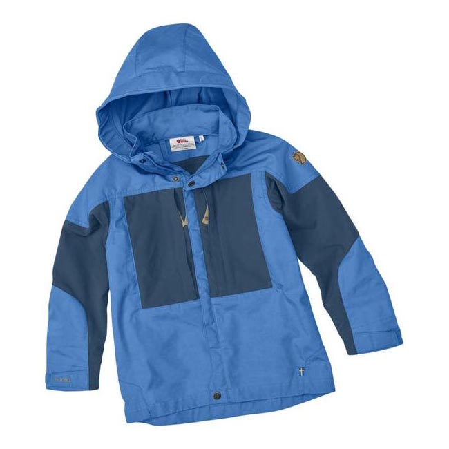 Women Fjallraven KIDS KEB JACKET UN BLUE Outlet Online