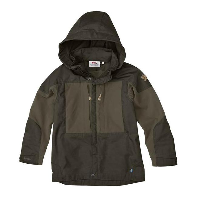 Women Fjallraven KIDS KEB JACKET DARK OLIVE Outlet Online