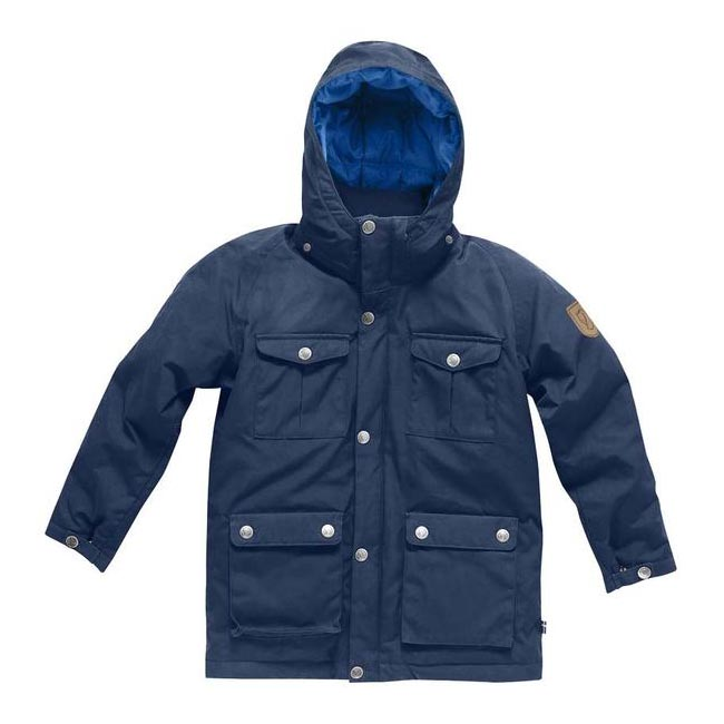 Women Fjallraven GREENLAND KIDS DOWN PARKA BLUEBERRY  Outlet Online
