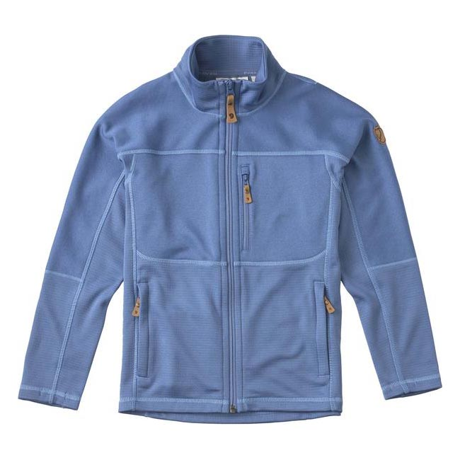 Women Fjallraven KIDS ABISKO TRAIL FLEECE BLUE RIDGE  Outlet Online