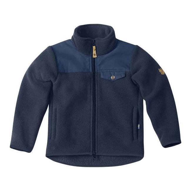 Women Fjallraven KIDS SINGI FLEECE JACKET DARK NAVY  Outlet Online