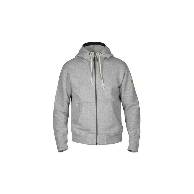 Men Fjallraven ÖVIK MEN'S HOODIE GREY Outlet Online