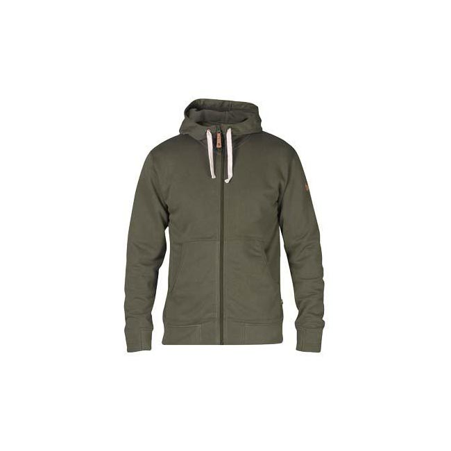 Men Fjallraven ÖVIK MEN\'S HOODIE TARMAC Outlet Online