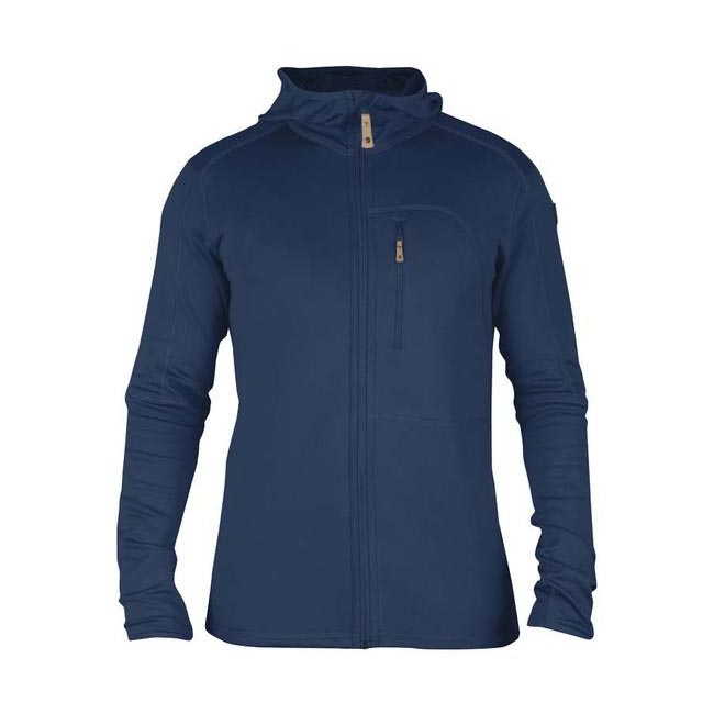 Men Fjallraven KEB FLEECE MEN\'S JACKET BLUEBERRY Outlet Online