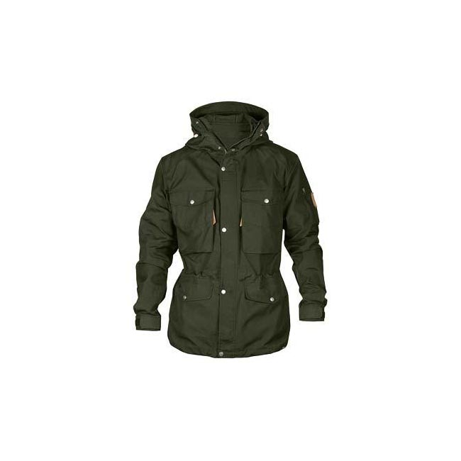 Men Fjallraven SINGI TREKKING JACKET DARK OLIVE Outlet Online