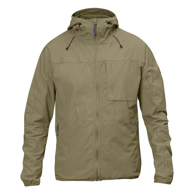 Men Fjallraven HIGH COAST WIND JACKET CORK Outlet Online