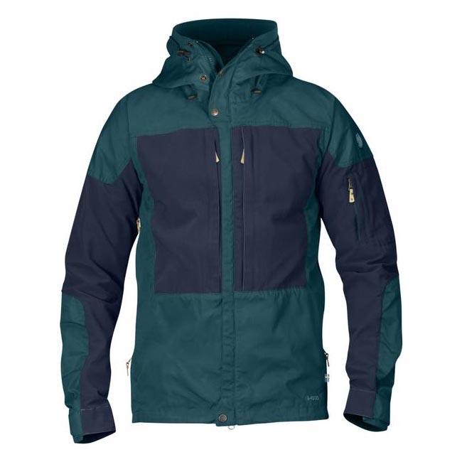 Men Fjallraven KEB JACKET GLACIER GREEN Outlet Online
