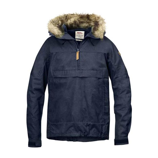 Men Fjallraven SINGI ANORAK DARK NAVY Outlet Online