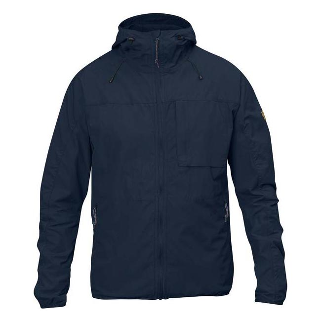 Men Fjallraven HIGH COAST WIND JACKET NAVY Outlet Online