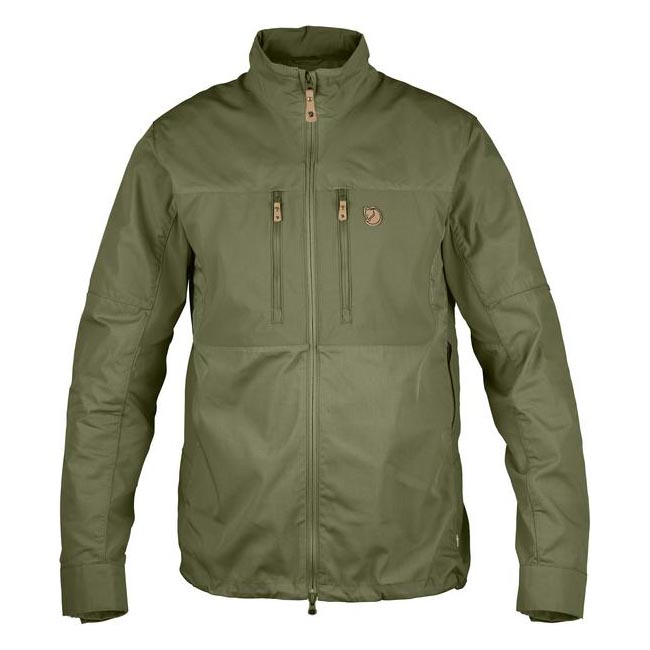 Men Fjallraven ABISKO SHADE JACKET GREEN Outlet Online