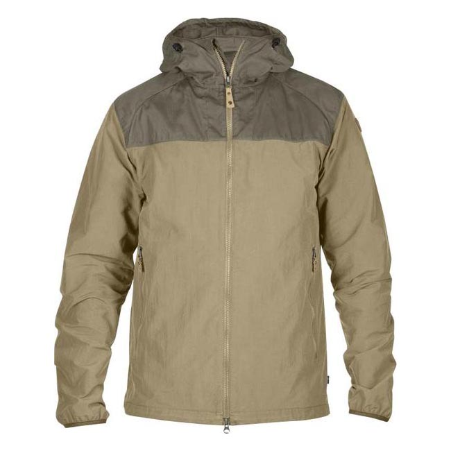 Men Fjallraven ABISKO HYBRID MEN\'S JACKET SAND Outlet Online