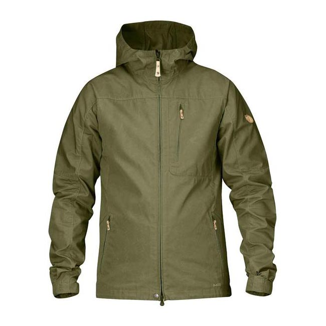 Men Fjallraven STEN JACKET GREEN Outlet Online
