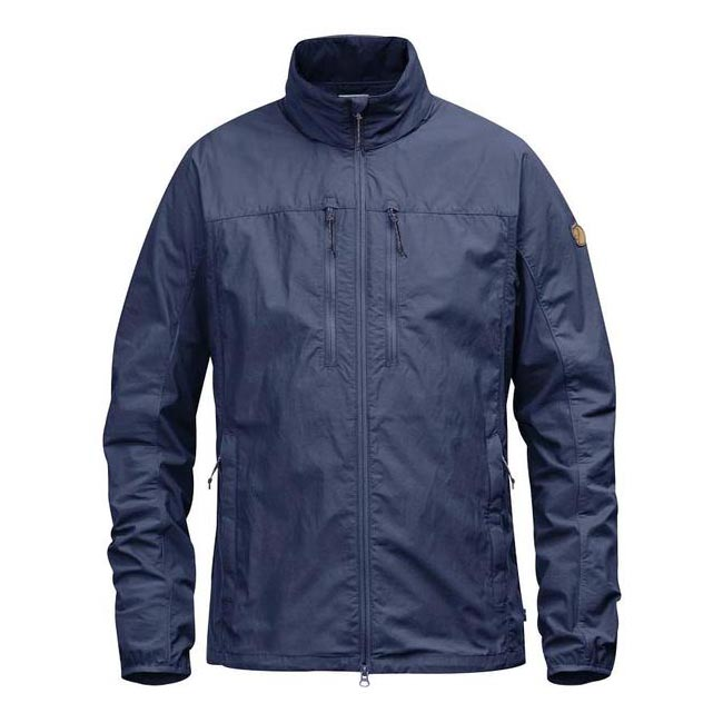Men Fjallraven HIGH COAST HYBRID JACKET NAVY Outlet Online