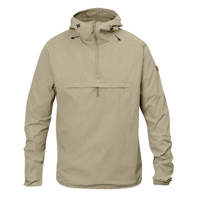 Men Fjallraven HIGH COAST WIND ANORAK MEN\'S JACKET LIMESTONE Outlet Online