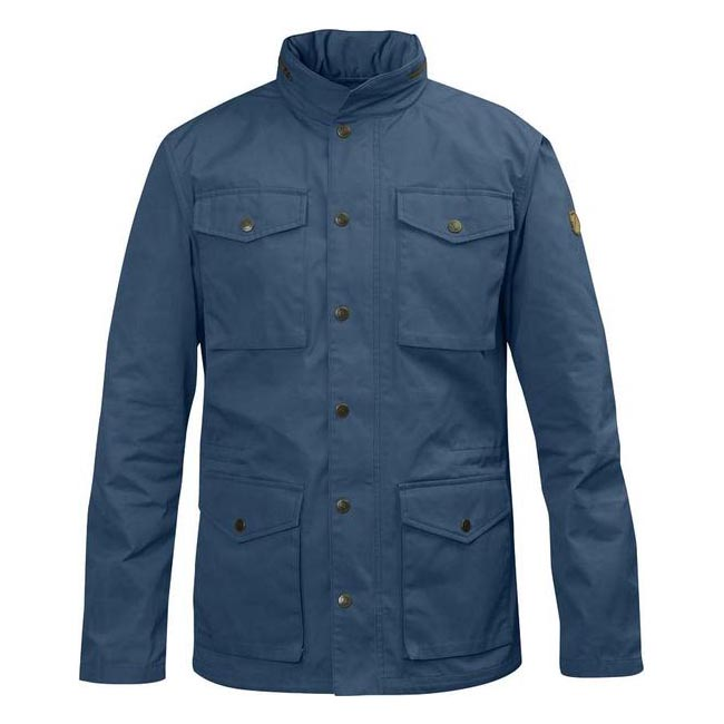Men Fjallraven RÄVEN JACKET UNCLE BLUE Outlet Online