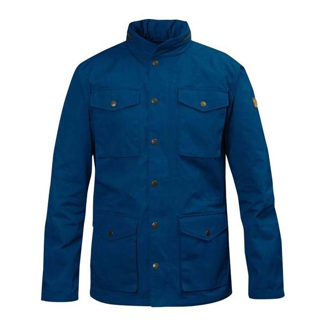 Men Fjallraven RÄVEN JACKET LAKE BLUE Outlet Online