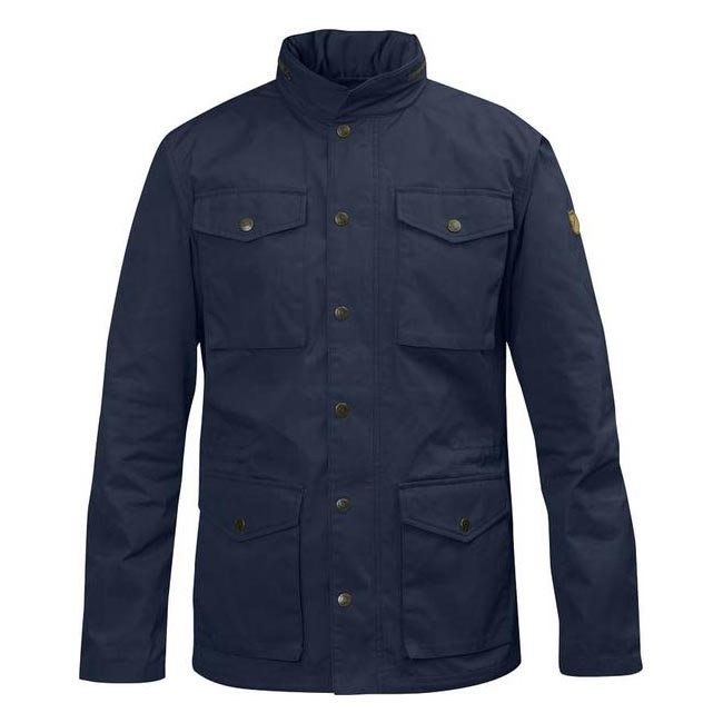 Men Fjallraven RÄVEN JACKET DARK NAVY Outlet Online