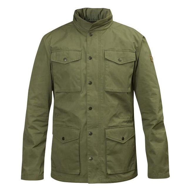 Men Fjallraven RÄVEN JACKET GREEN Outlet Online