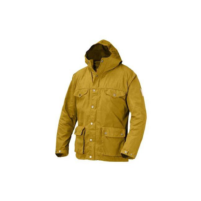 Men Fjallraven GREENLAND JACKET OCHRE Outlet Online